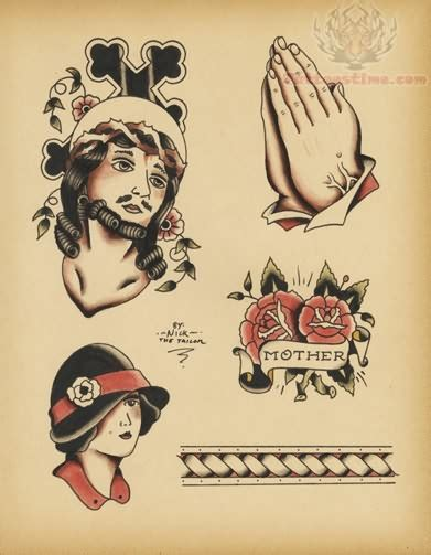 old school tattoo flash school flash