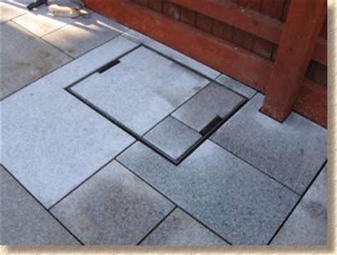 patio around drain cover modern patio outdoor