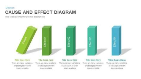 Slidebazaar Free Premium Powerpoint Slide And Templates Cause And Effect Diagram Template Powerpoint