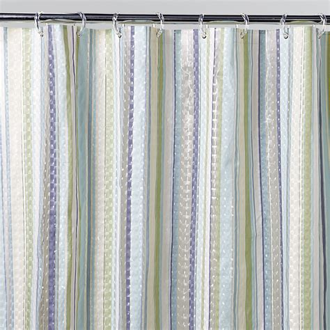 Bold Shower Curtains H20 Lenticular Bold Stripe Shower Curtain