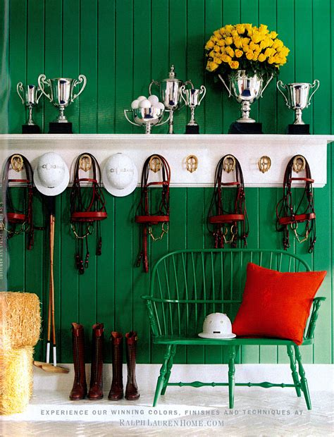 Themed Home Decor by Home Decoration Theme Decor Equestrian Design