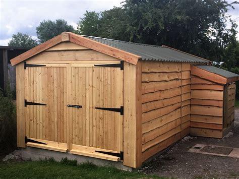 wooden garage designs timber garages ebay