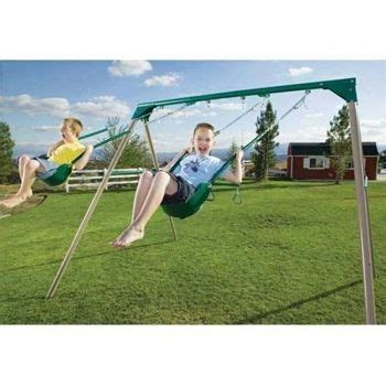 lifetime 10 foot a frame swing set 17 best images about swing on pinterest pallet swing