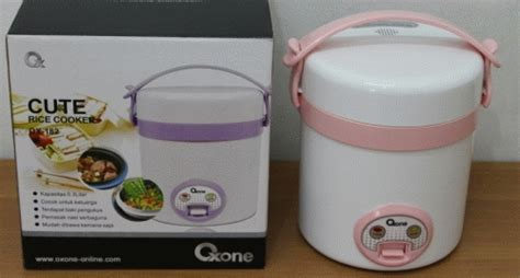 Rice Cooker Kecil jual oxone rice cooker ox 182 rice cooker travelling