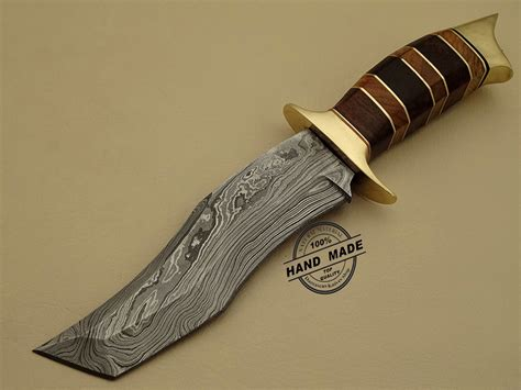 steel knives damascus tanto knife custom handmade damascus steel