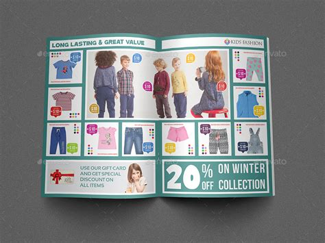 clothing catalog template fashion products catalog brochure template by