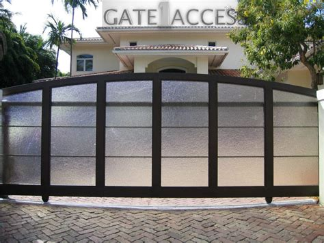 install automatic gates to enjoy privacy safety and