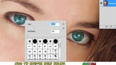 photoshop cs5 red eye tool tutorial tutorial photoshop cs5 how to change eye color in