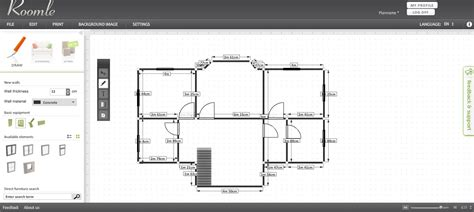 Home Floor Plans Software Free by Free Floor Plan Software Roomle Review