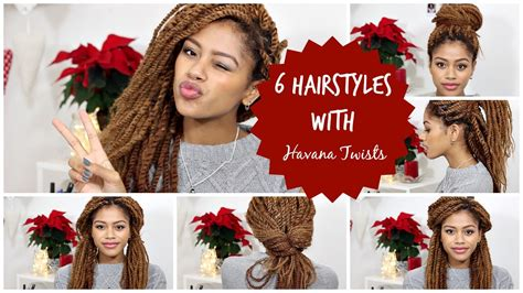 i look different with a different hairstyle 6 different hairstyles with havana twists tasha green