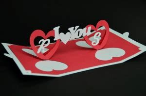 twisting hearts pop up card template s day pop up card twisting creative pop