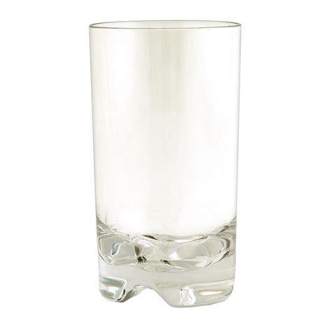 plastic barware strahl 100023 14 oz vivaldi highball glass clear poly