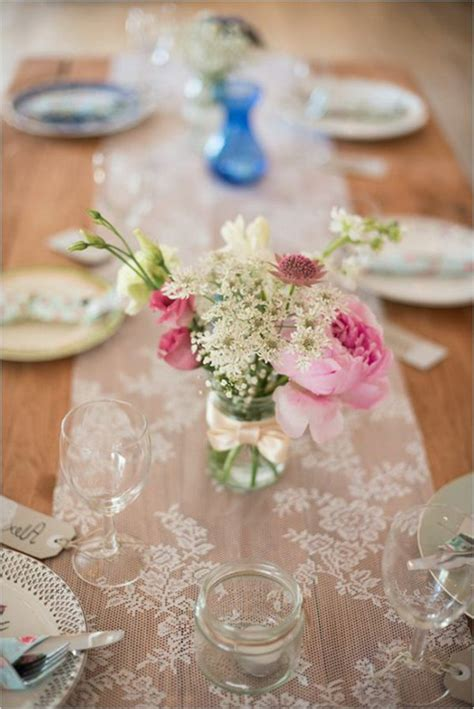 Tischdeko Vintage Hochzeit by 40 Leichte Schnelle Und G 252 Nstige Tischdekoration Ideen