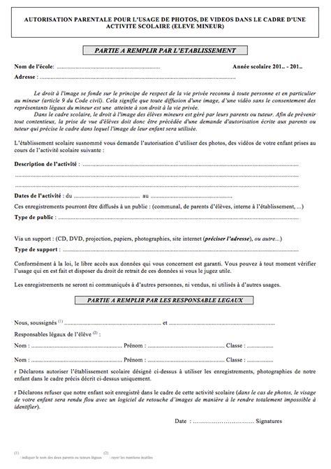 Exemple De Lettre Autorisation Parentale Pour Voyager scolaire priv 233 l importance de prot 233 ger le droit 224