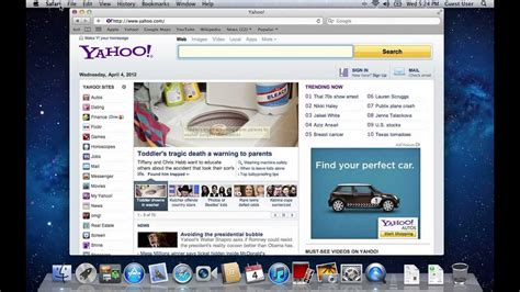 Change Home Page In Safari by How To Change Your Home Page In Safari On Mac Os X