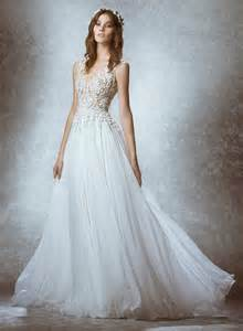 ethereal wedding dress zuhair murad bridal 2015 collection is ethereal focuses on waist