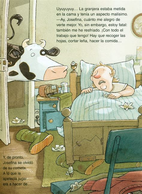 libro josefina se resfria josefina se resfria colecci 243 n josefina una vaca