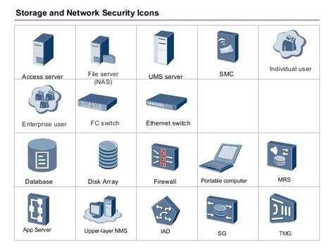 visio database icon security visio stencil best free home design