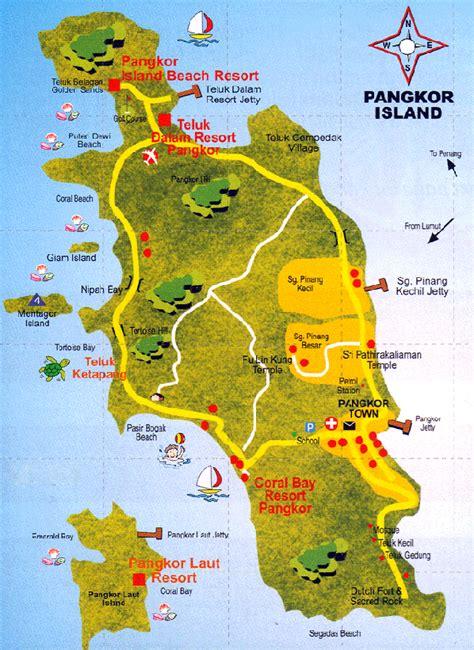 pangkor island resort map ipoh city attration pulau pangkor