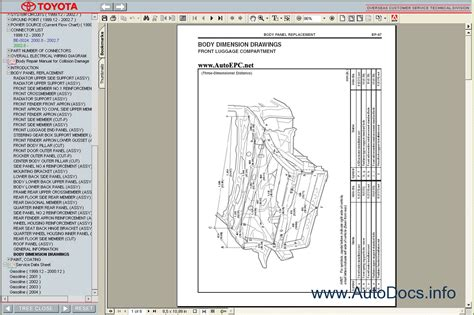 car engine manuals 2005 toyota mr2 on board diagnostic system toyota mr2 1999 2005 service manual repair manual order download