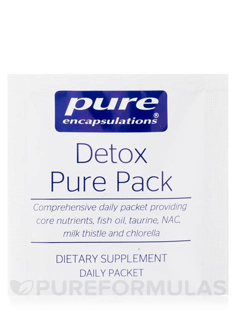 How To Use Encapsulations Detox Pack by Detox Pack 30 Packets