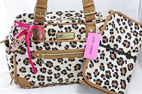 And Leo Baby Bag by Betsey Johnson 2 Leopard Cheetah Luxe Leo Baby
