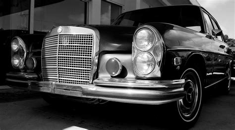 old cars black and white fade to black and white black and white photography