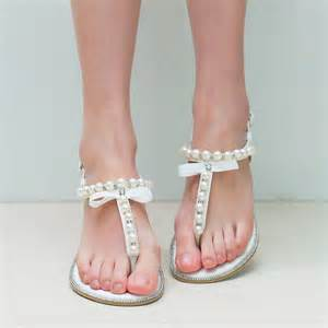 Silver Flat Sandals For Bridesmaids by Womens Bridesmaid Shoes Silver Bridal Flat Gold
