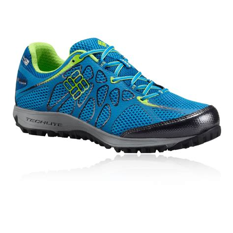 columbia athletic shoes columbia conspiracy titanium outdry mens blue waterproof
