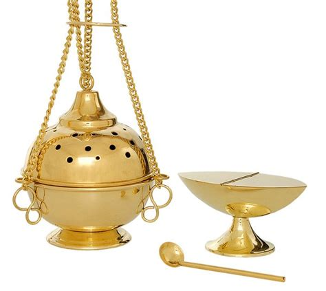 thurible and incense boat fm148 fm church supplies ltd - Thurible And Boat