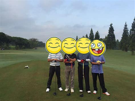 pengalaman main golf  klub golf bogor raya puput setiyawan