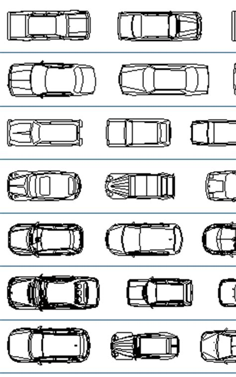 car templates for autocad vehicles and car cad blocks thousand dwg files cars