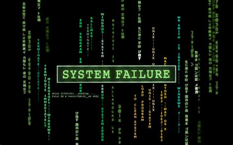 wallpaper for system desktop system failure wallpaper 233041