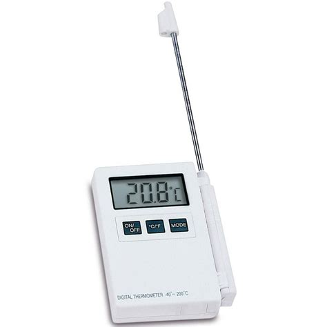 Laris Termometer Digital With Probe min max thermometer with 125mm probe and hold function