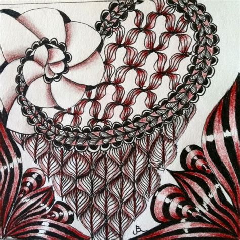 zentangle pattern phicops 17 best images about tangle bunzo on pinterest