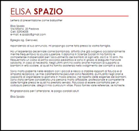 lettere di raccomandazione esempio lettera di presentazione livecareer