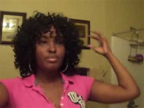picturez of wavy hair with invisible part invisible part quickweave with curly hair youtube