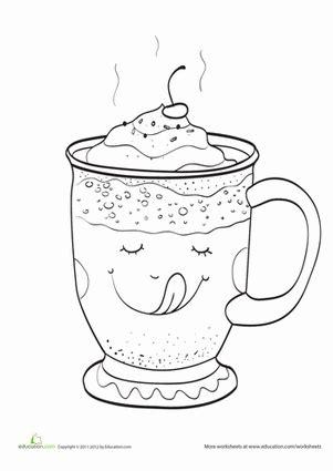 hot chocolate worksheet education com