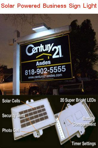 estate sign lights 17 best images about on the solar