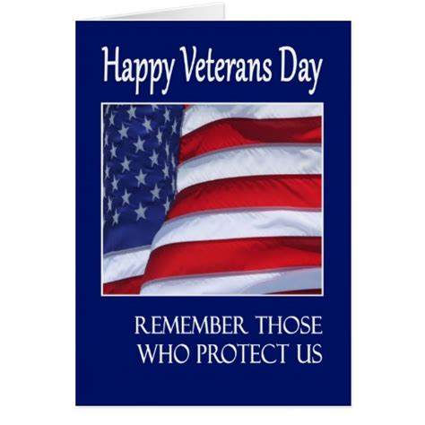 Cards For Veterans - happy veterans day greeting card american flag