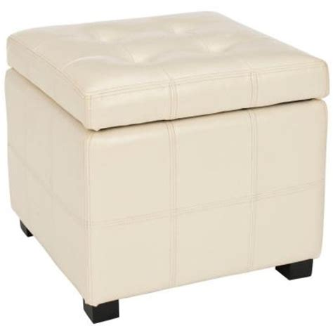 home depot storage ottoman home decorators collection kerrie square storage ottoman