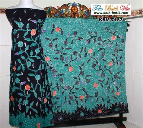 Rok Batik Tulis Madura Pagi Sore batik madura pagi sore berbunga orangekbm 7183 kain