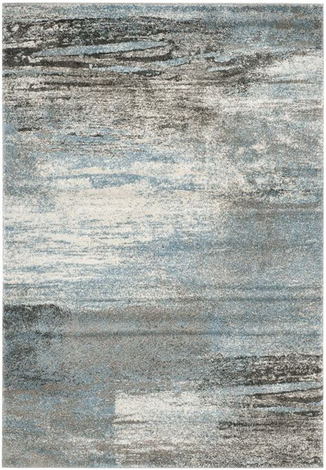 Area Carpet Rugs Safavieh Tahoe Tah479d Grey And Light Blue Area Rug Free Shipping
