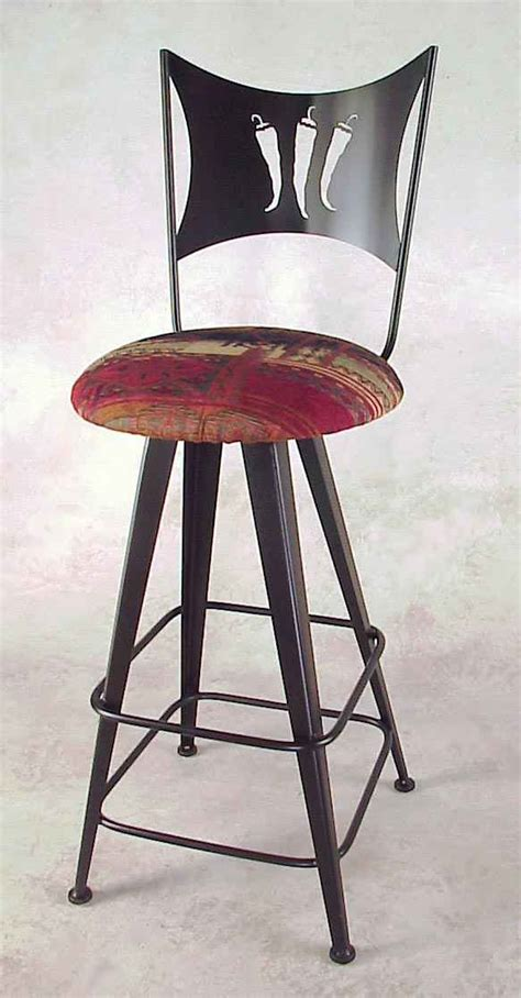 Pepper In Stool by Chili Peppers Bar Stool Swivel