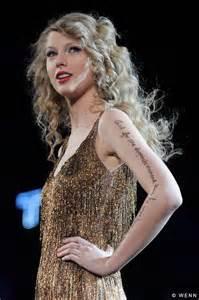 Taylor swift s tattoo