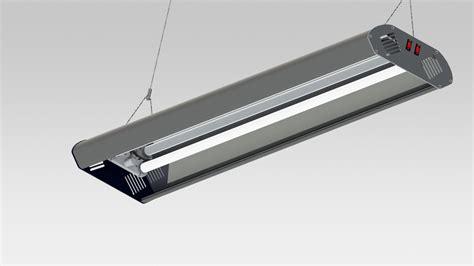 fluorescent light 3d model fluorescent l 2 x 36 w stl solidworks 3d cad model