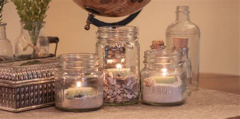 how to make a centerpiece with candles candles awesom jar candles ideas how to make