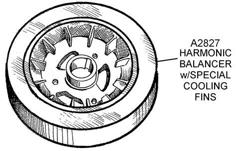 harmonic balancer diagram harmonic balancer with cooling fins diagram view