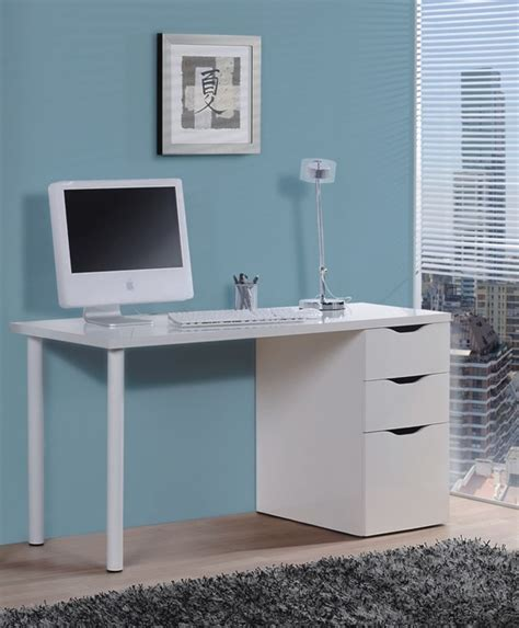 white gloss desk uk blanco white gloss desk with 3 drawers amos mann furniture
