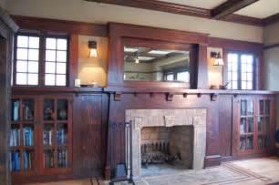 Mission Sconce Craftsman Fireplace Craftsman Living Room Portland
